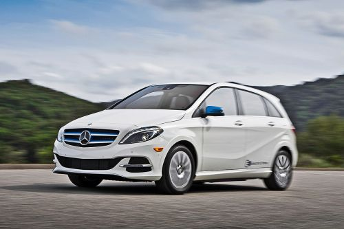 Mercedes B klasse Electric Drive